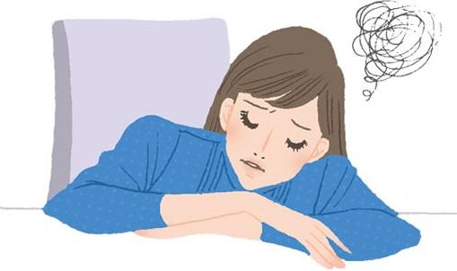 うつ症状に悩む女性